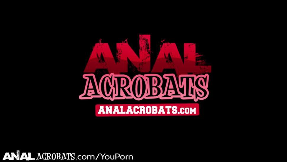 Analacrobats Monica Santhiago Gape Stuffed Rough Toys + Dick!
