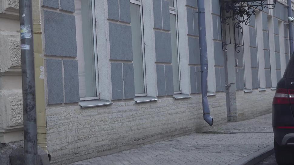 Bulge Cock Flash On Street \ Public Flashing 2 / Cameltoe Leggins Girl