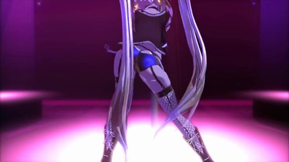 [3D MMD] Ariane Cevaille Pole Dance Breast Expansion #2 (120 FPS) by Silo9
