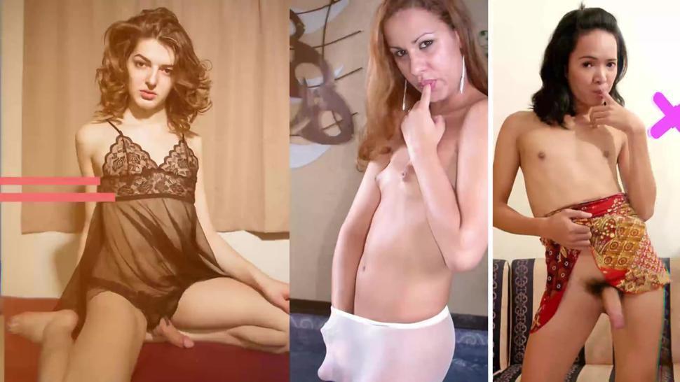 very hot european redhead tgirl shemale masturbate her dick - TgirlSexMatc