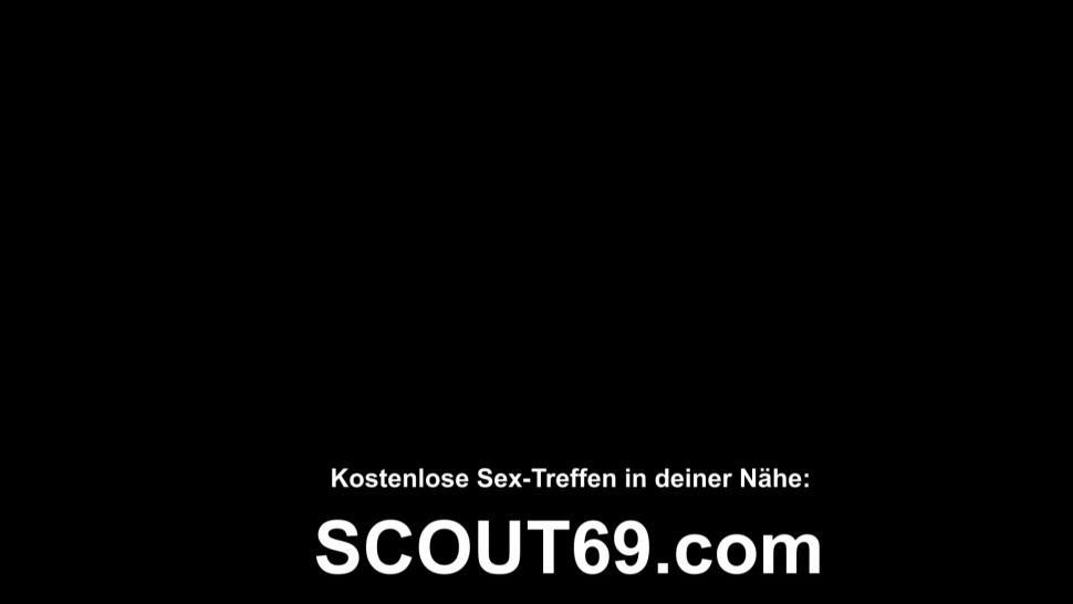 SCOUT69 - German MILF Hooker Ashley Cumstar Fuck in Parlour No Condom