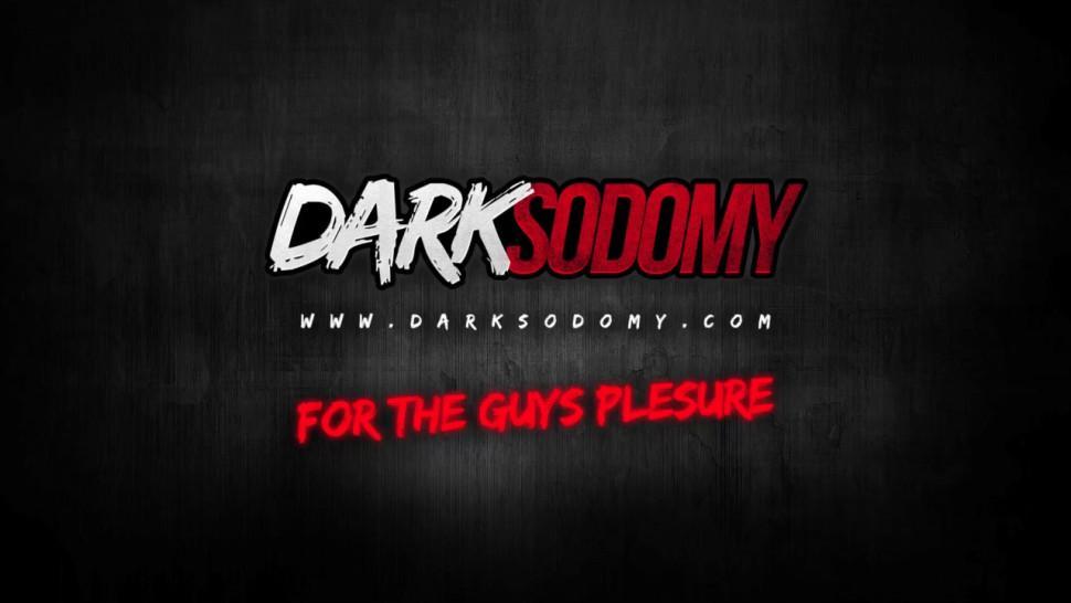 DARK SODOMY - Cathy Inez Enjoys an Interracial Double Penetration Gangbang