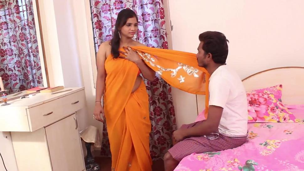 Hot desi shortfilm 666 - Anitha big boobs pressed rough & kissed, navel kiss