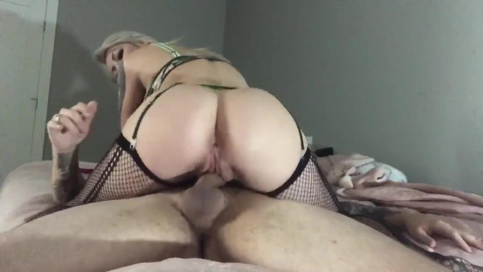young slut moans as she has her way with my cock. She slides, sucks, then squirts and screams!