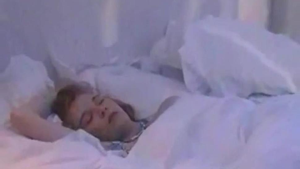 Sleeping girl gets fucked twice
