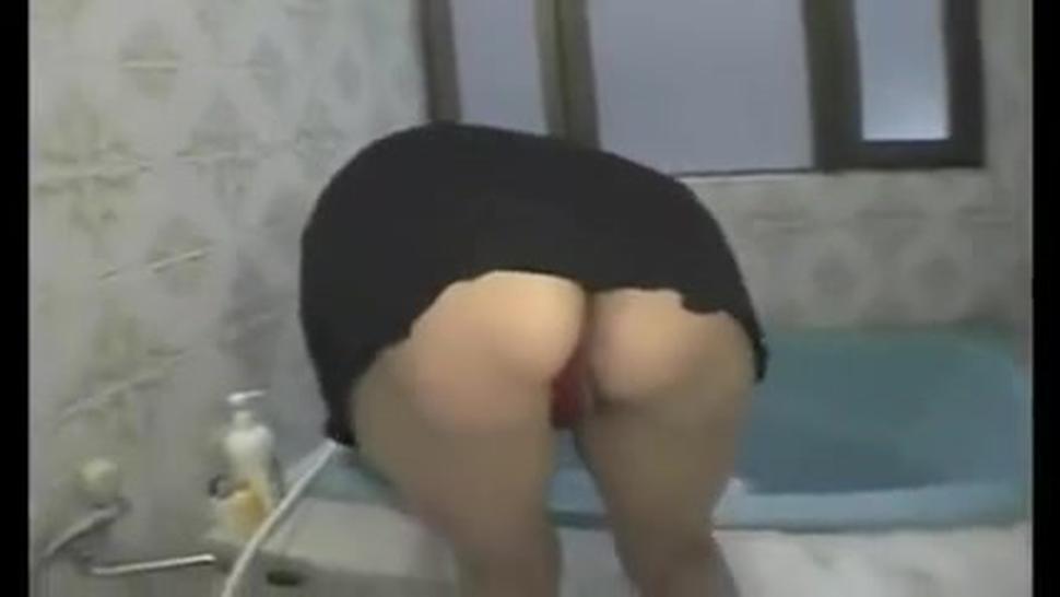 Sexy Asian Milf Fucks Homemade Voyeur