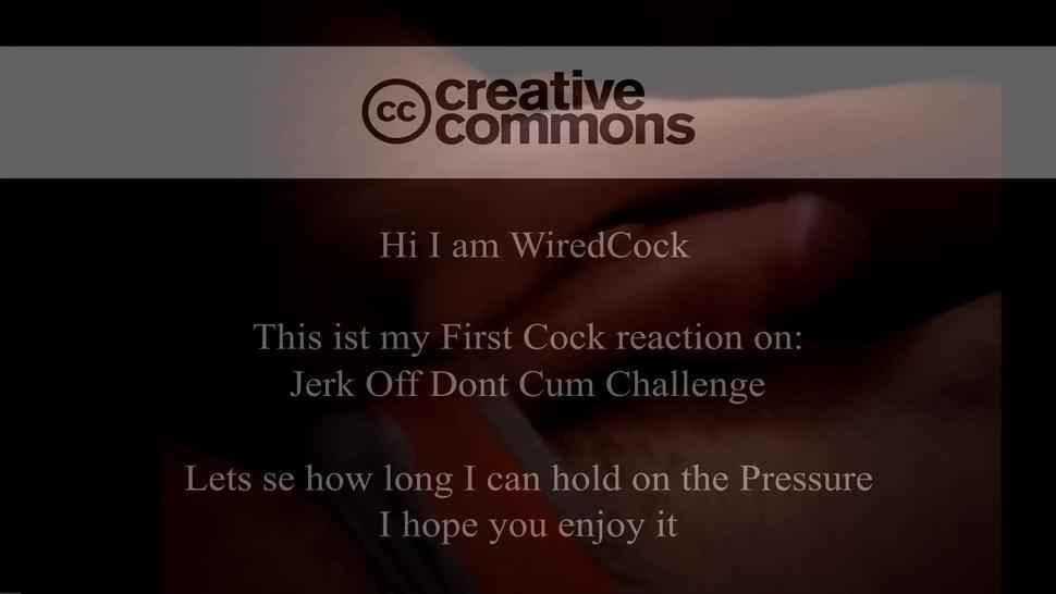 Dick Reacts On: Jerk Off Don'T Cum Challenge 1.Try