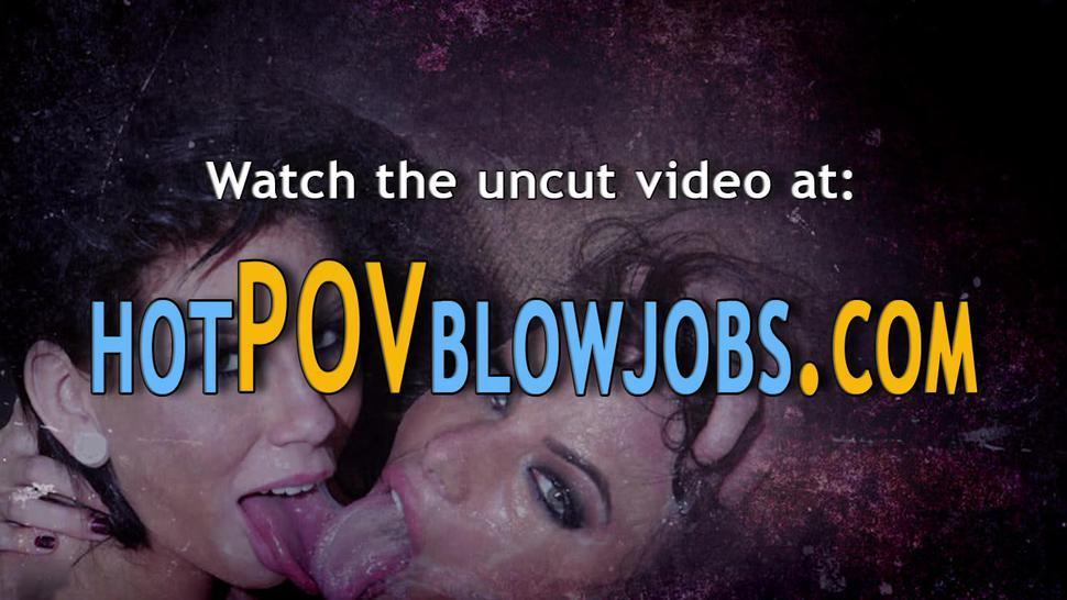 POV BLOWJOBS - Sluts pov throating dick and gagging