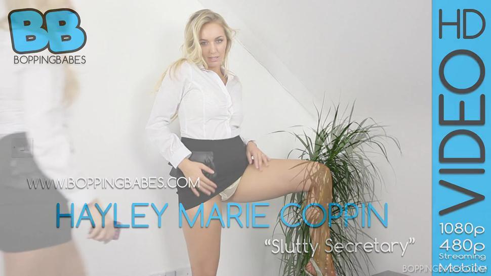 Hayley Marie Coppin Slutty Secretary BoppingBabes 1080p