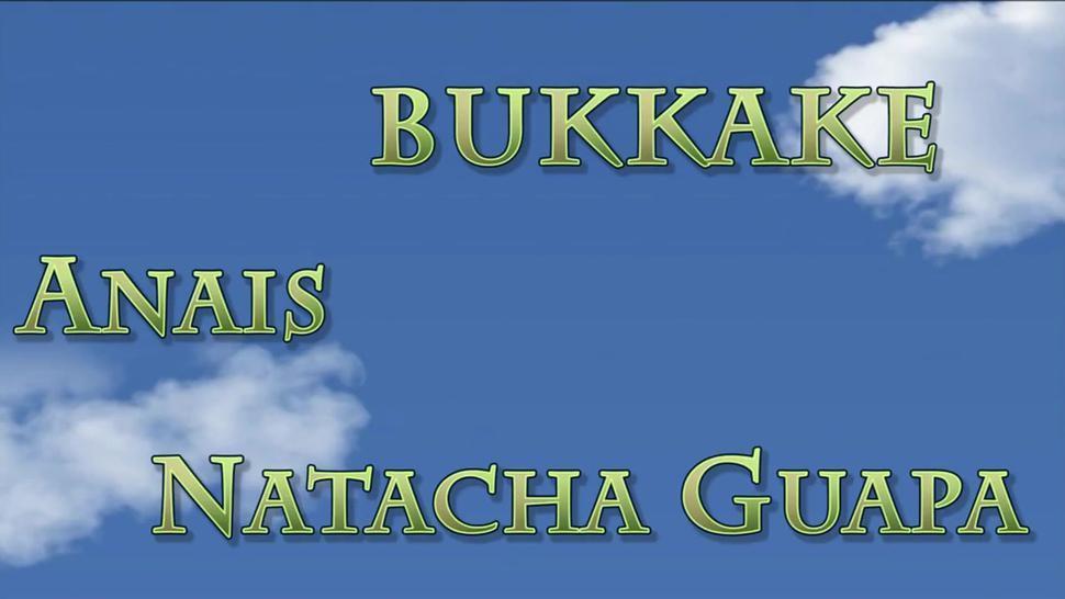 Anais & Natacha Guapa-french bukkake