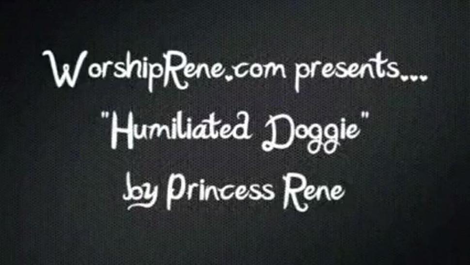 Humiliated Doggy - Princess Rene Game