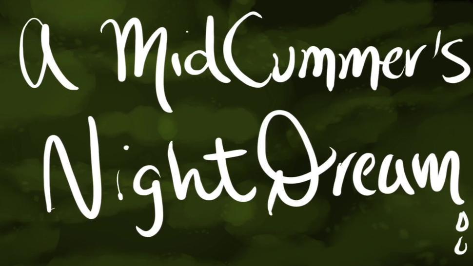 MidCummer's Night Dream Public Park Group Sex Night Cartoon Animation Gay Orgy Bukakke