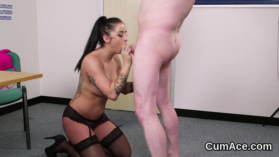 Bukkake/hd/cumshot gets flirty all face