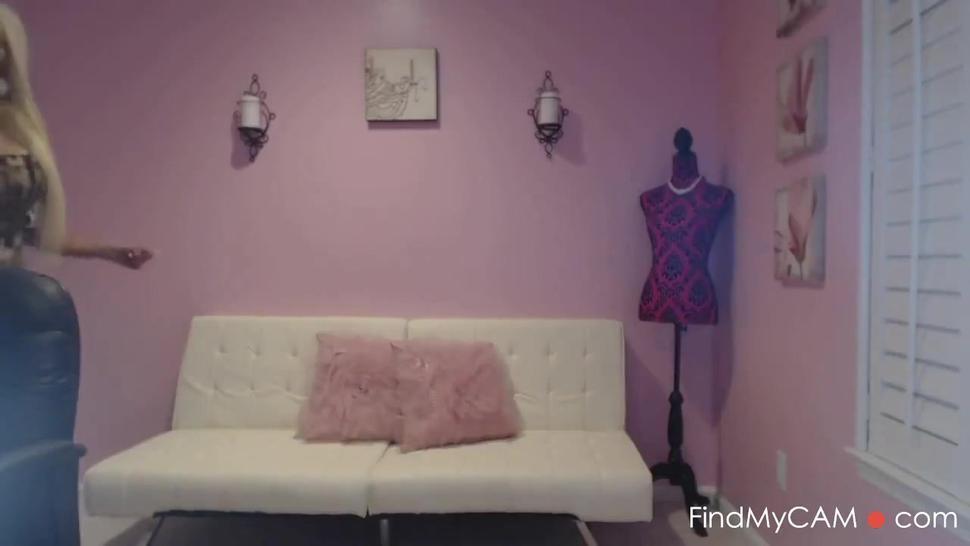 Dirty Talking Bimbo Blonde In A Tight Dress JOI HD