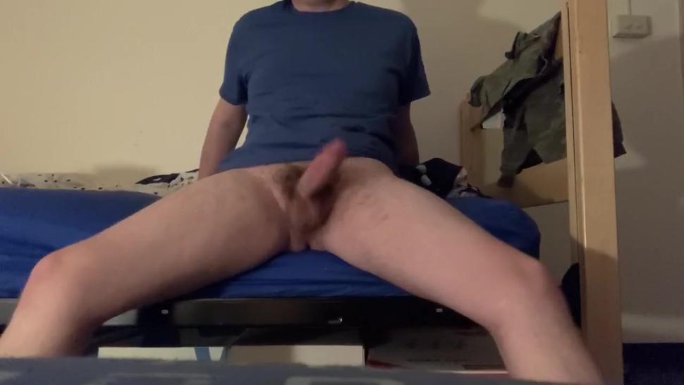 Big dick college student dirty talking (breeding)