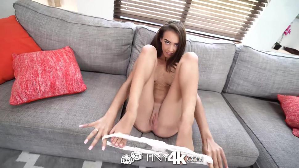 TINY4K Petite Teen Fucked Silly On Thanksgiving Day