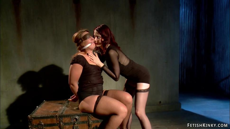 Redhead anal lesbian from black market