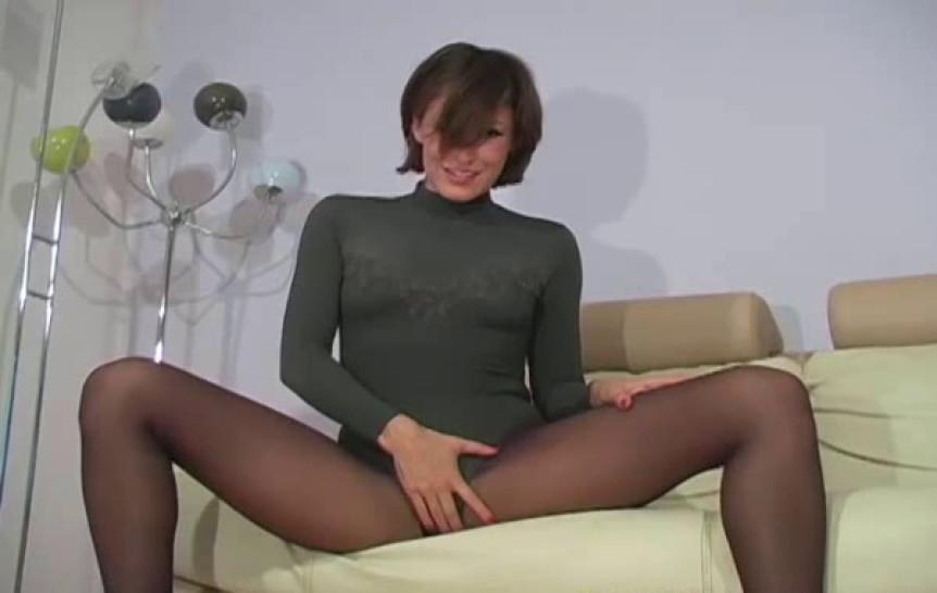 Nylon pantyhose/pantyhose/1 pantyhose video amazing