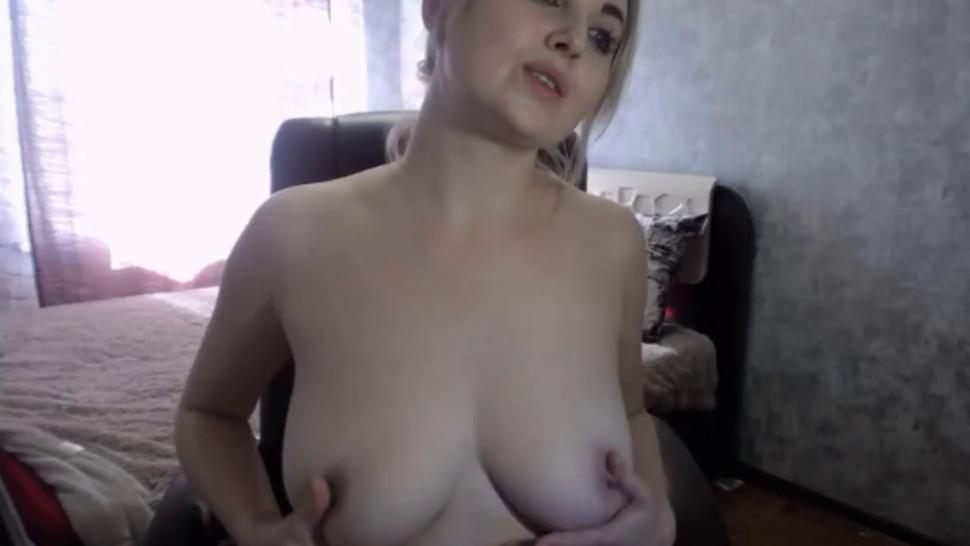 Lovely Russian Lady Indicates Erect Nipples