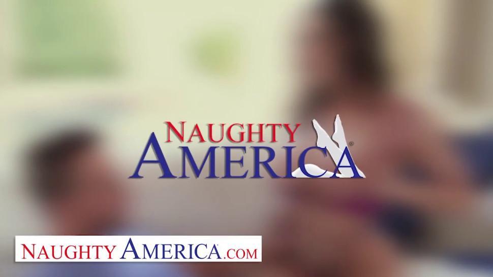 Naughty America Rachel Roxxx fucks stranger in dorm room - video 1