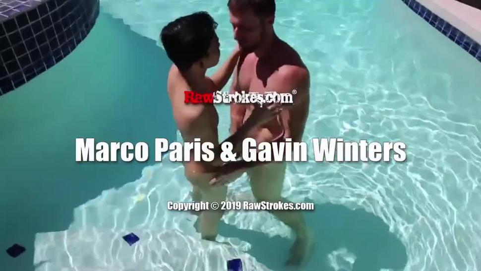 Marco Paris real screw and cum 3 times in Gavin Winters
