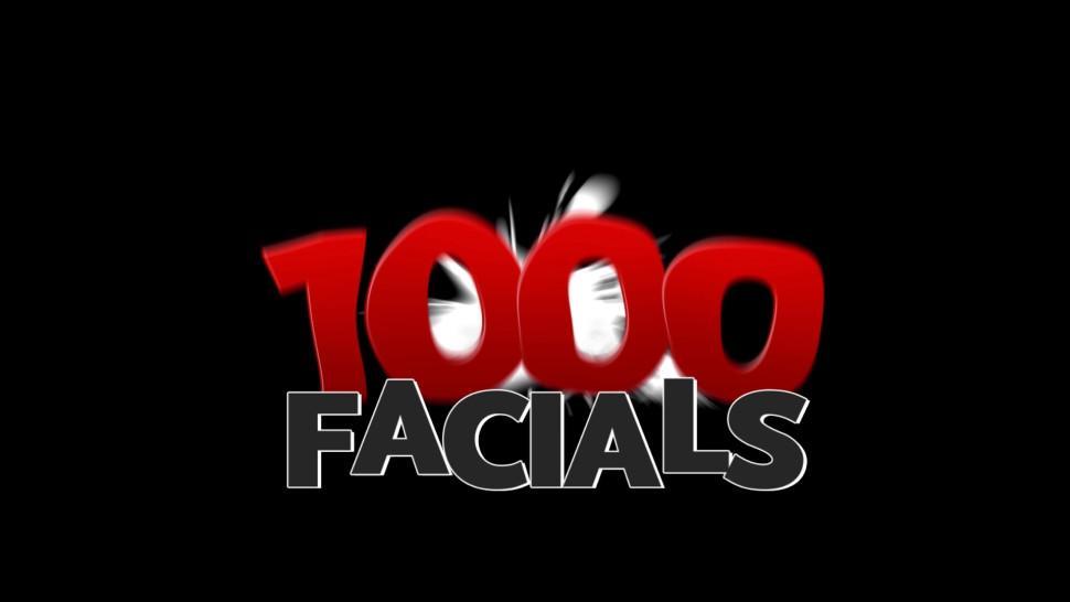 1000 FACIALS - Sasha Summers's Nasty Facial