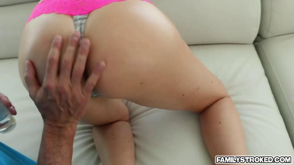 Precious hot babe Brittany Shae fucks a large dick