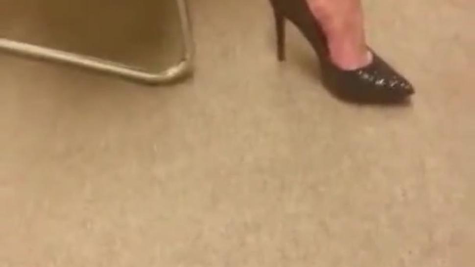 Filmers Friends Shoeplay Feet and Legs in Heels