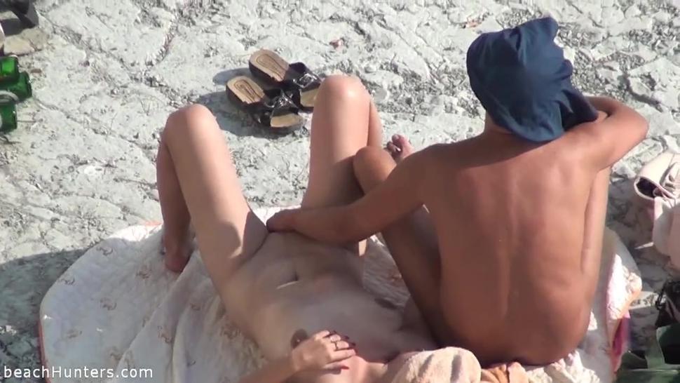 Kinky Games On The Beach