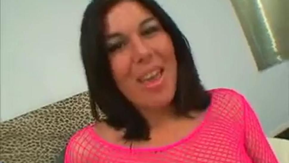 Ashley Blue rough anal gangbang