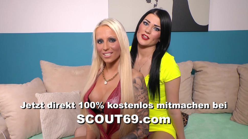 German Dirty Talk High Hells POV Footjob with Hot Teen Tini