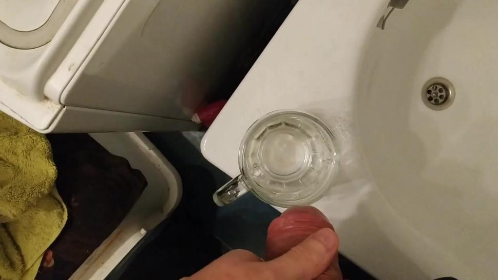 My toilet slave's mouth pissing and pee drinking compilation pt1 HD