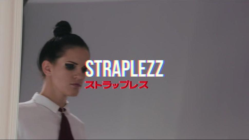 Amazing Babes Use Strapless Dildo