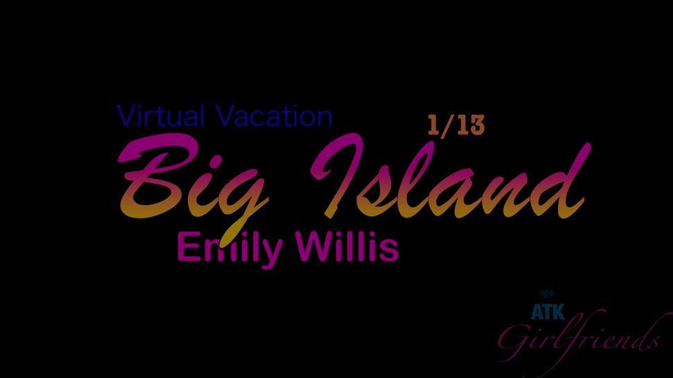 ATK Girlfriends - Emily makes it to the Big Island, and you make her cum!