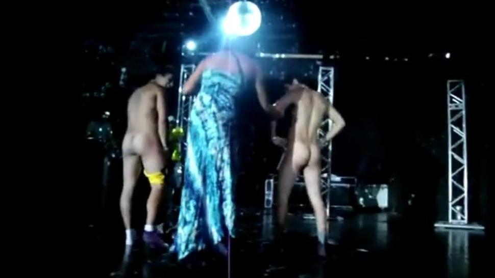 Guys Get Naked On Stage