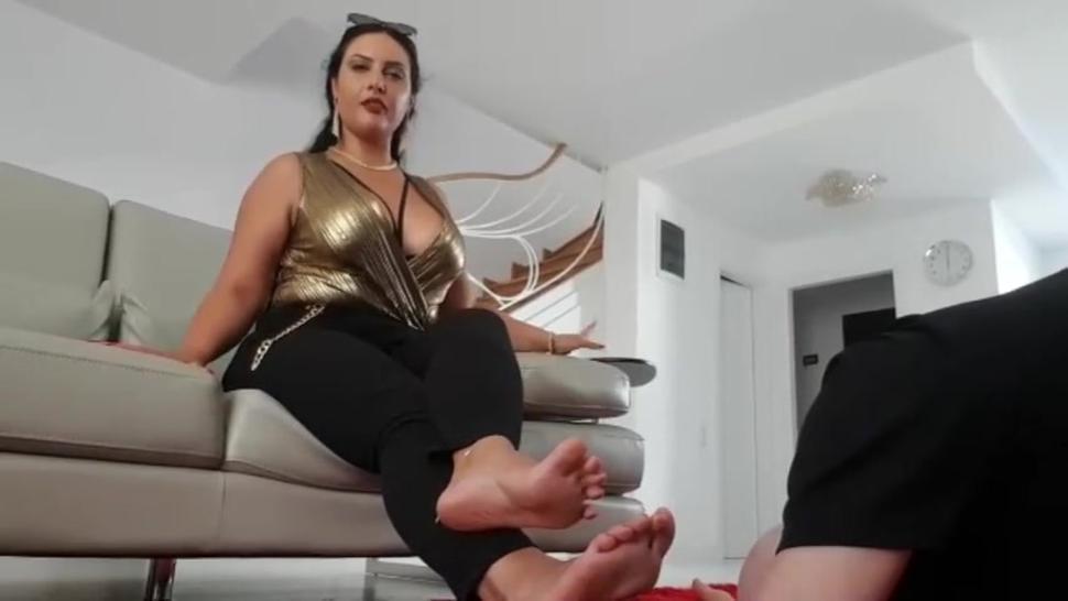 Ezada Foot Licking