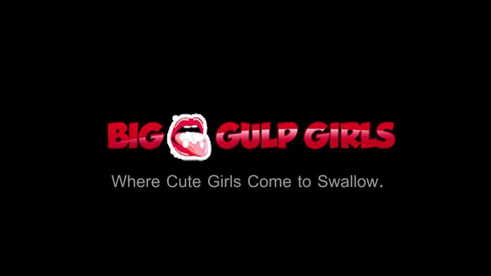 Big Boob Cum Guzzling Asian Brenna Sparks Loves To Suck Meaty Cocks