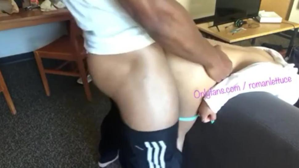 BBC Football Player Pounds Asian Teen on Couch before practice onlyfans . com / romanlettuce