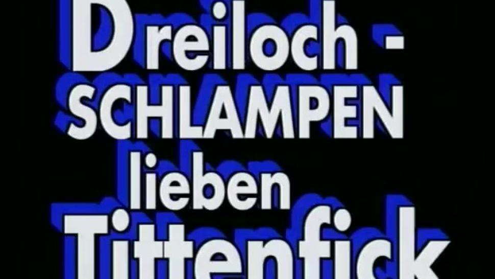 Dreiloch Schlampen -- German Vintage full Movie