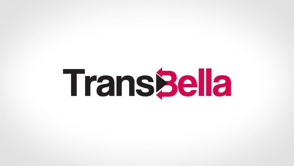 Transbella - #Nauana Lima - Rough Threesome Anal With Latina Tgirl And Big Cocks