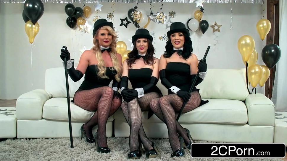 New Year Party Orgy - Chanel Preston, Kristina Rose, Phoenix Marie