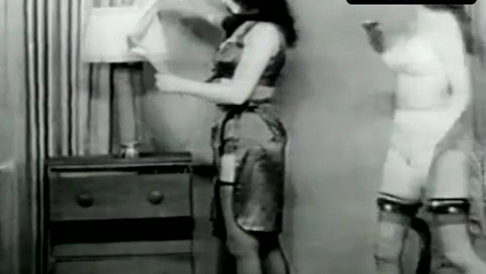 Bettie Page Underwear Scene  in Bettie Page: The Girl In The Leopard Print Bikini