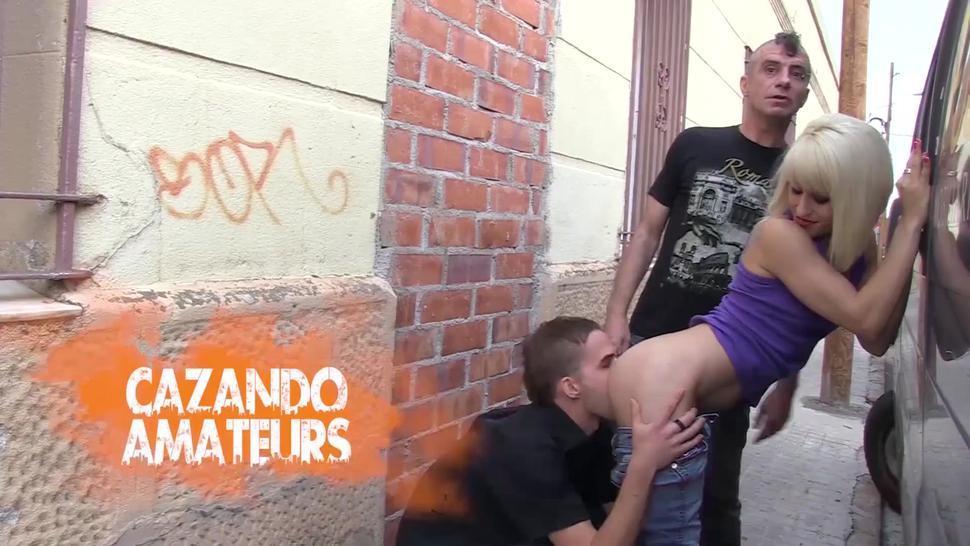 LasFolladoras - Lilyan Red Inked Spanish Pornstar Gangbanged By Four Amateur Guys - AMATEUREURO