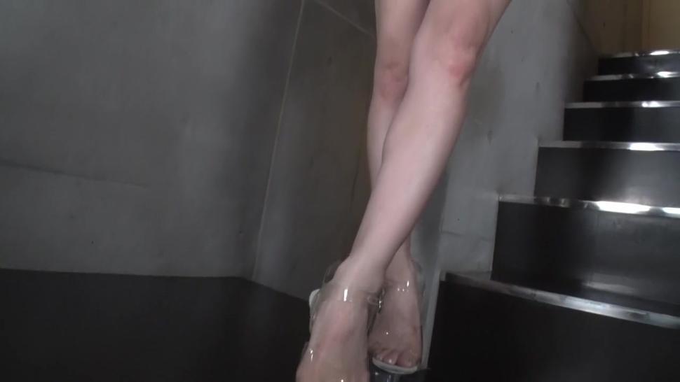 Meru Amamiya white high cut Swimsuit [ Softcore ] 4/6
