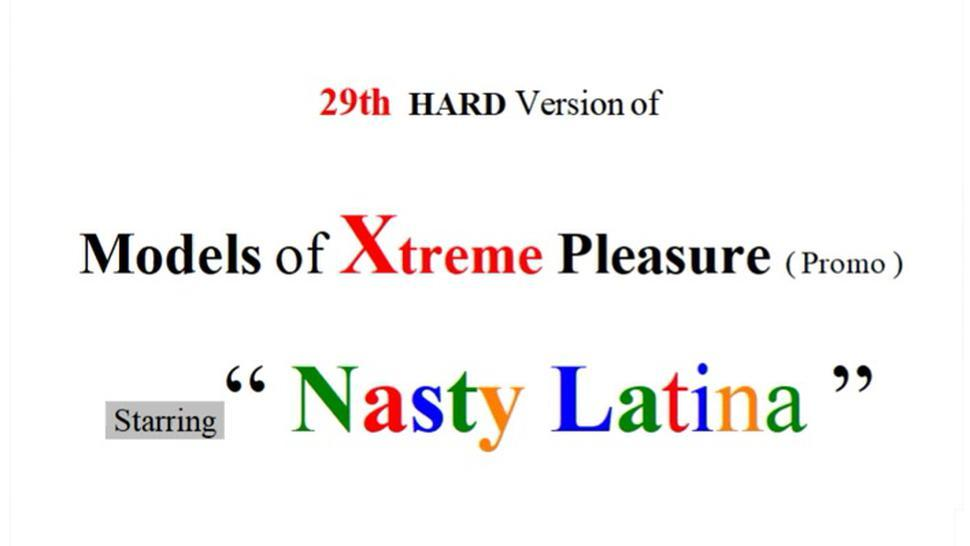 29Th Rough Version Of Web Models Of Xtreme Pleasure (Promo)
