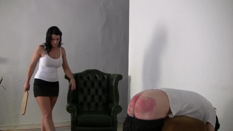 Miss Deborah punishes your bare bottom
