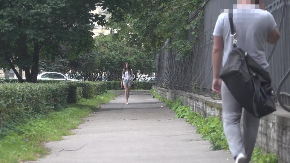 Bulge Cock Flash On Street \ Public Flashing 3 / Sexy Girl (Preview)