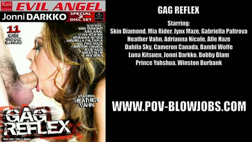 Pov Deepthroat - Skin Diamond & Cameron Canada & Jynx Maze & Allie Haze