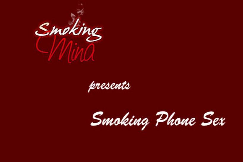 Fetish/sex phone smoking