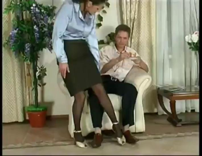 Pantyhose/mature/use video condom to always